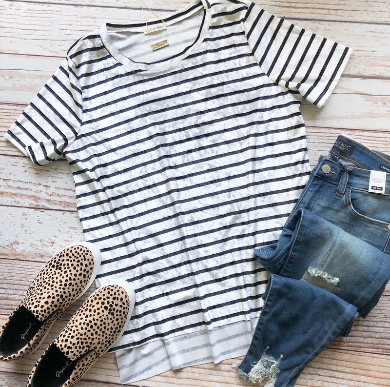 Phoebe Striped Top