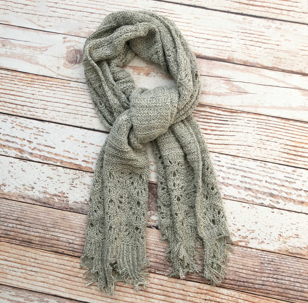 Timing Scarf In Oatmeal