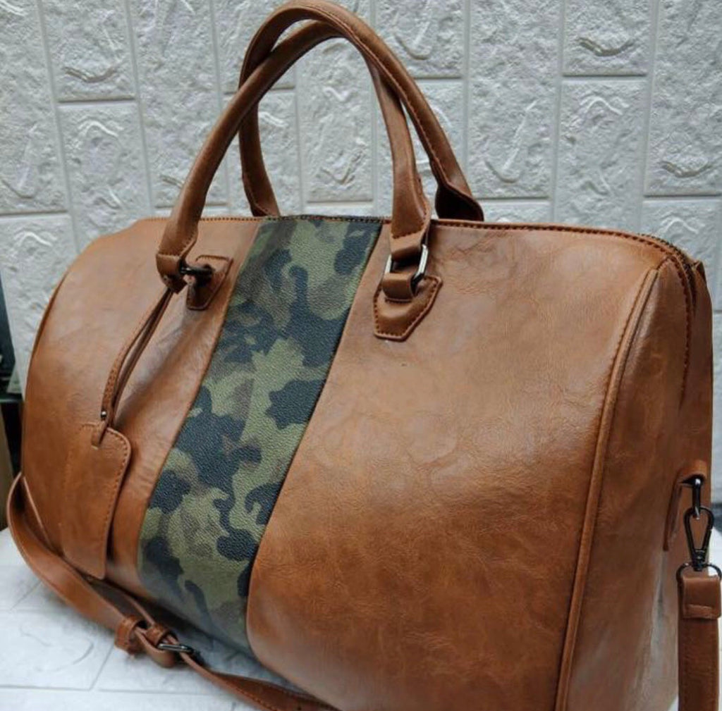 Camo Travel Bag
