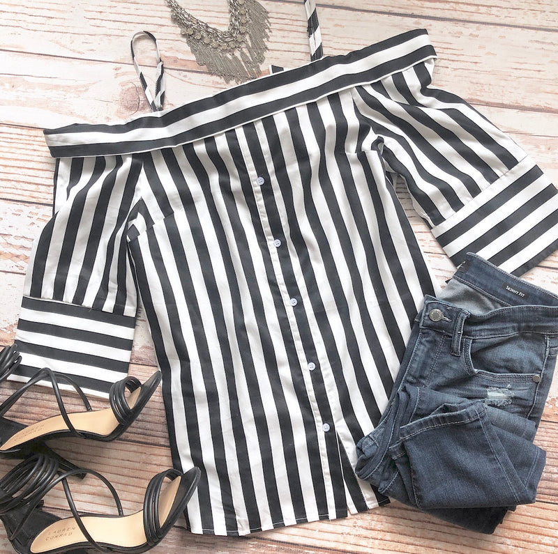 Carry On Striped Top