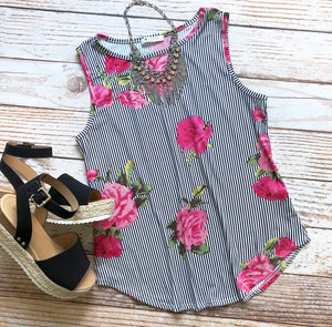 Brittany Sleeveless Top