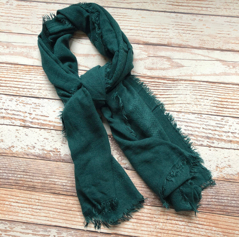 Ingrid Scarf In Forest Green