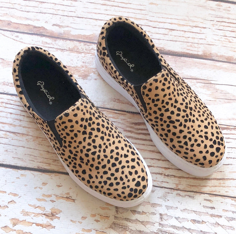 Lily Leopard Sneakers