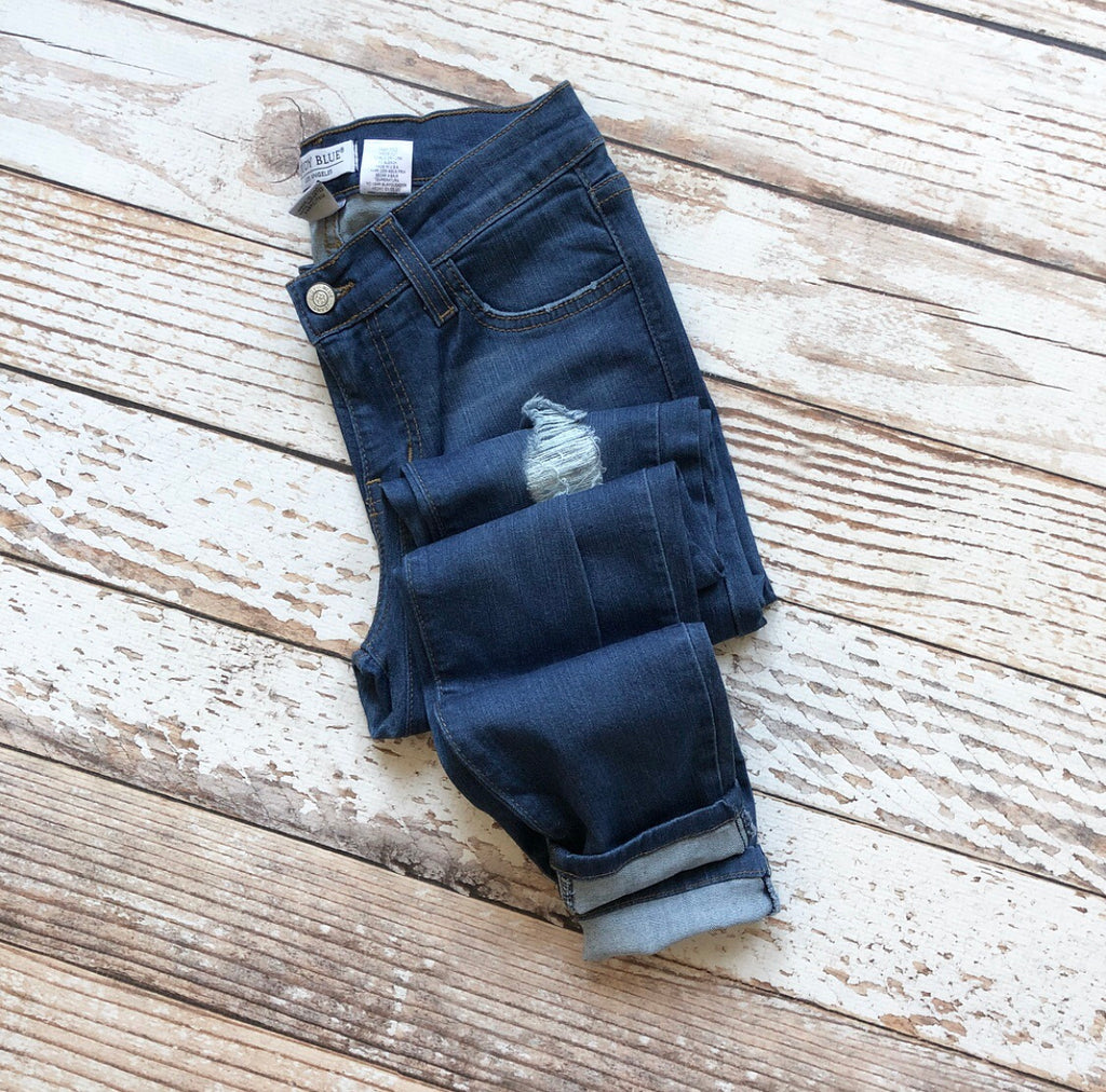 Judy Blue Madeline Skinny Jeans Medium Wash