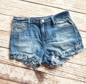 Summer Frayed Shorts