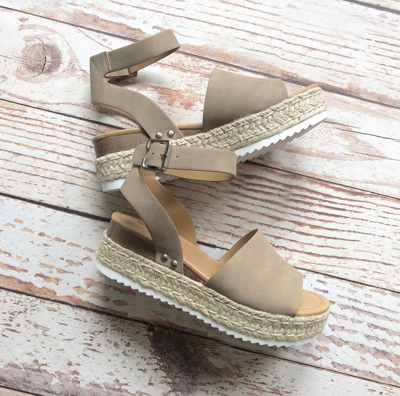 Camden Espadrille In Natural