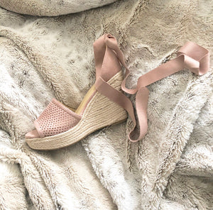 The Charlotte Wedge In Mauve