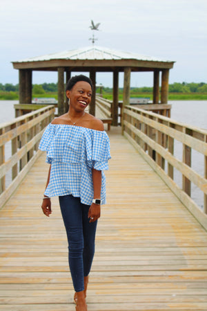 Destin Diva Off The Shoulder Top