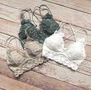 Whimsical Lace Bralette
