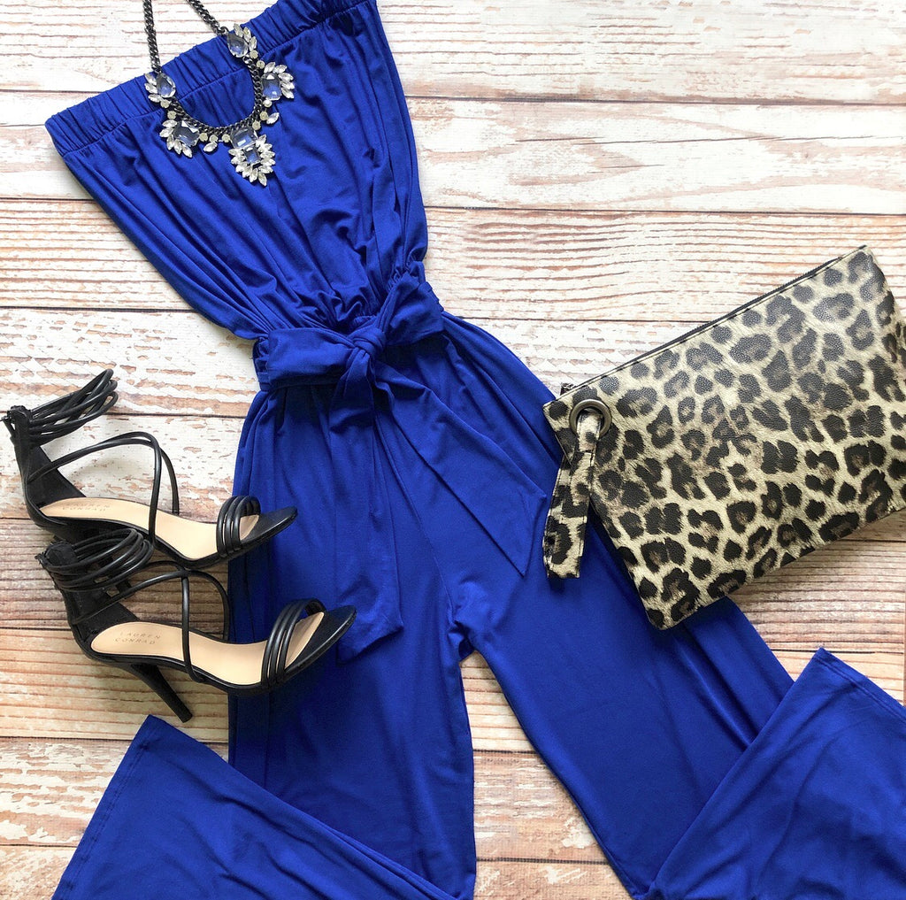 Chloe Jumpsuit In Royal