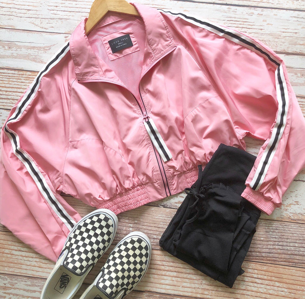 Have It Your Way Jacket In Pink
