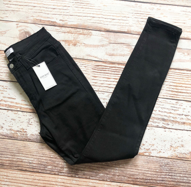 Judy Blue Kayla Skinny Jeans in Black