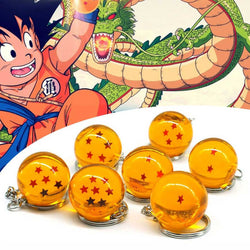 DBZ Dragon Ball Crystal Ball Collectable Keychains