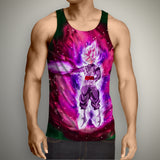 Goku Black Super Saiyan Rosé Tank Top