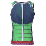 Bardock Saiyan Battle Armor Compression Tank Top