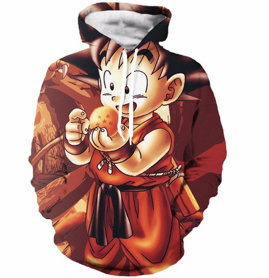 Kid Goku Dragon Ball Hoodie