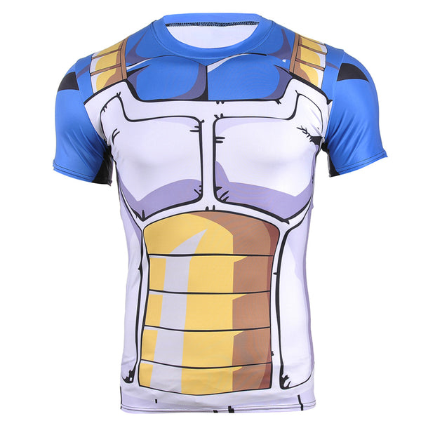 Vegeta Cell Saga Armor Compression T-Shirt
