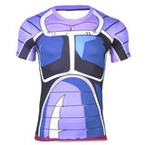 Turles Space Pirate Saiyan Battle Armor Compression T-Shirt