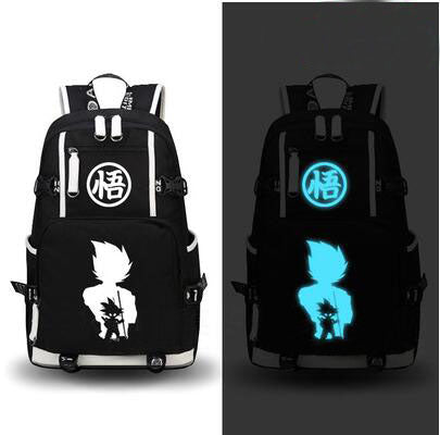 Glow in the Dark DBZ Backpack (Black/Navy Blue)