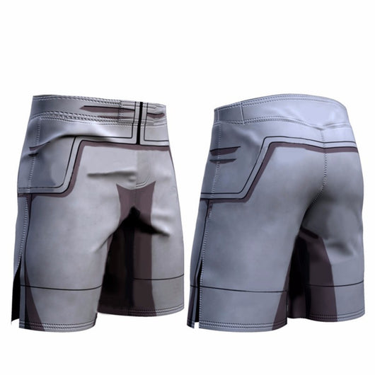 Vegeta Resurrection F Armor Athletic Compression Shorts