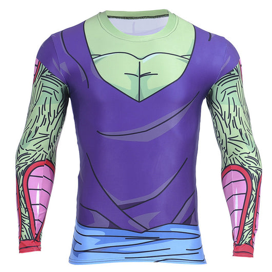 Piccolo Long Sleeve Skin Compression Shirt