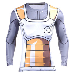 Vegeta Resurrection F Armour Long Sleeve Skin Compression Shirt