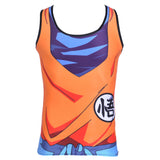 "Goku Training Uniform ""Go"" Symbol Compression Tank Top"