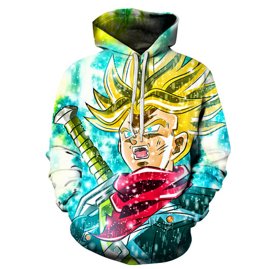 Trunks Super Saiyan Sword Hoodie