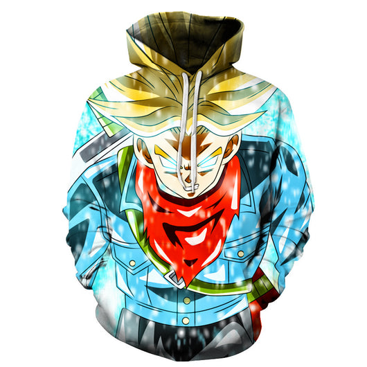 Trunks Super Saiyan God Hoodie