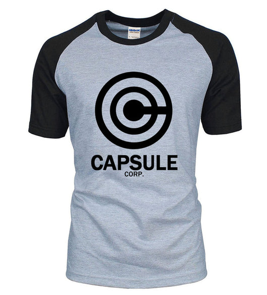 Dragon Ball Z Capsule Corp Cotton T-Shirt