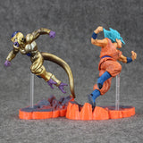Super Saiyan Blue Goku VS. Golden Frieza Freeza Action Figures