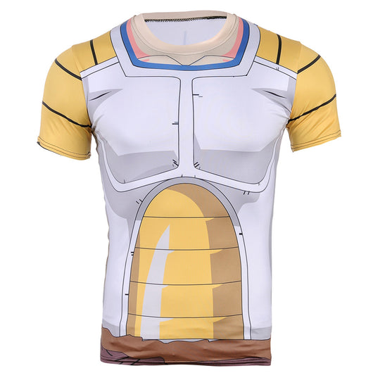 Vegeta Saiyan Battle Armor Compression T-Shirt