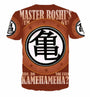 Master Roshi's Gym - Do You Even Kamehameha Full 3D Printed T-Shirt