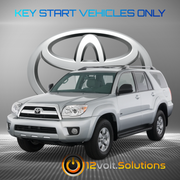 2003-2009 Toyota 4Runner Plug & Play Remote Start Kit