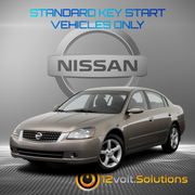 2005-2006 Nissan Altima Remote Start Plug and Play Kit (Standard Key)