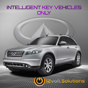 2005-2008 Infiniti FX45 Remote Start Plug and Play Kit (Intelligent Key)