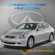 2005-2008 Infiniti G35 Remote Start Plug and Play Kit (Standard Key)