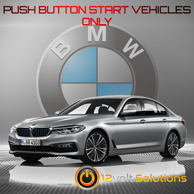 2005-2010 BMW 5-Series Plug and Play Remote Start Kit (Push Button Start)