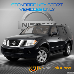 2005-2012 Nissan Pathfinder Remote Start Plug and Play Kit (Standard Key)