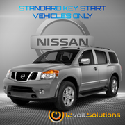 2005-2015 Nissan Armada Remote Start Plug and Play Kit (Standard Key)