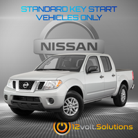 2005-2020 Nissan Frontier Remote Start Plug and Play Kit (Standard Key)