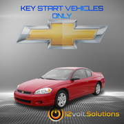 2006-2007 Chevrolet Monte Carlo Plug & Play Remote Start Kit (Key Start)