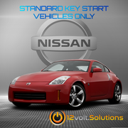 2006-2009 Nissan 350z Remote Start Plug and Play Kit (Standard Key)