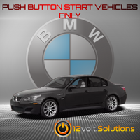 2006-2010 BMW M5 Plug and Play Remote Start Kit (Push Button Start)