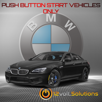 2006-2010 BMW M6 Plug and Play Remote Start Kit (Push Button Start)