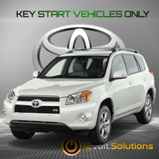 2006-2010 Toyota Rav4 Plug & Play Remote Start Kit (DOT Key)
