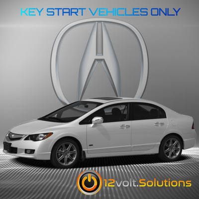 2006-2011 Acura CSX Plug & Play Remote Start Kit (standard key)