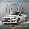 2016-2020 Honda Civic Plug & Play Remote Start Kit (standard key)
