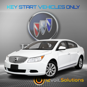 2006-2011 Buick Lucern Plug & Play Remote Start Kit (Key Start)