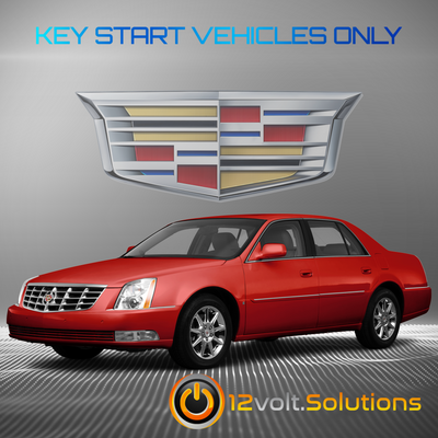 2006-2011 Cadillac DTS Plug & Play Remote Start Kit (Key Start)